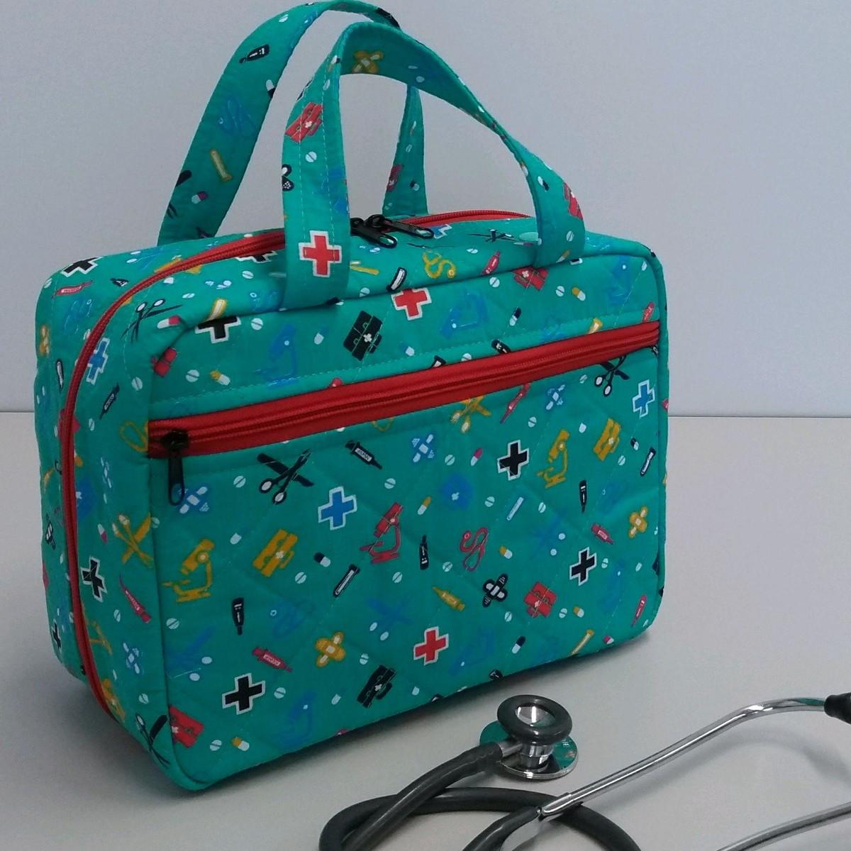 5189cae01 Bolsa para enfermagem no Elo7 | Dona Cotinha Ateliê (C8B9E8)