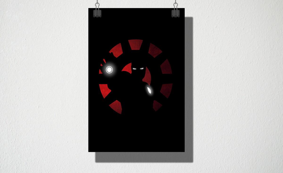 Poster A4 Iron man