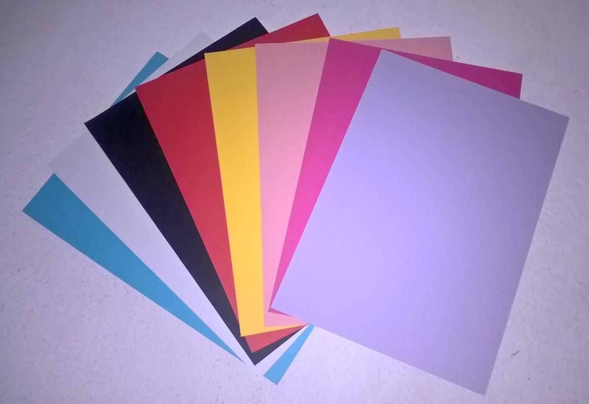 4abdaa830 Papel Color Plus 180g Liso no Elo7