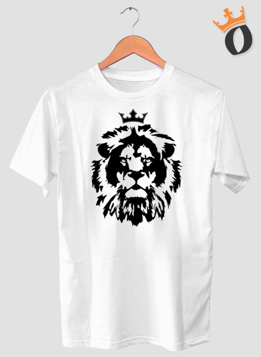 0c1151659 Camiseta Tema Gospel Evangélica Leão de Judá o Rei no Elo7 ...