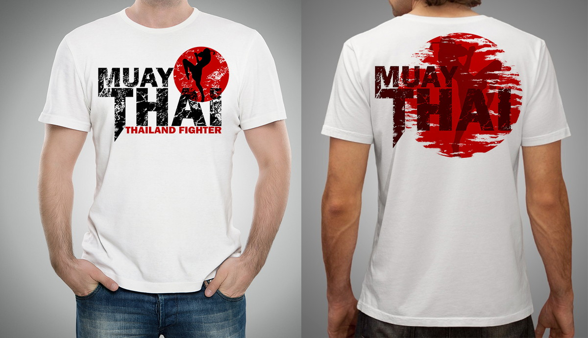 Camiseta Ou Baby Look Muay Thai Thailand Fighter MMA Boxe no Elo7 ... 548611f5f1d
