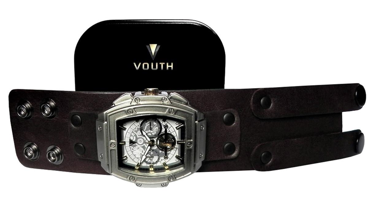 41eef90a69f Relógio Bracelete Masculino Caixa Quadrada no Elo7