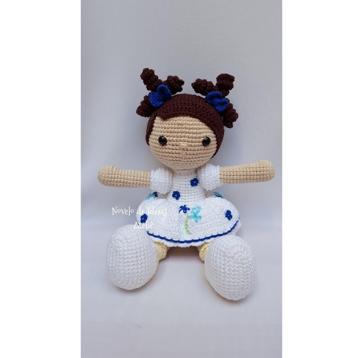 Amigurumi de Crochê (Boneca Grande) | Amigurumi de croche, Bonecas ... | 1193x1200