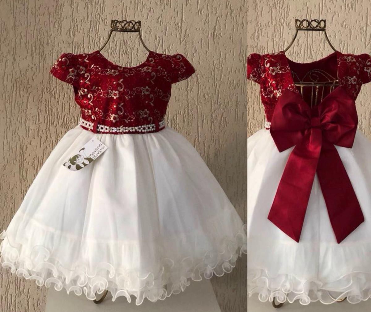 918d1bd0a1 Zoom · Vestido Infantil Daminha