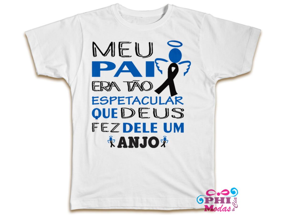 179a24182 Camiseta Personalizada Dia dos Pais no Elo7