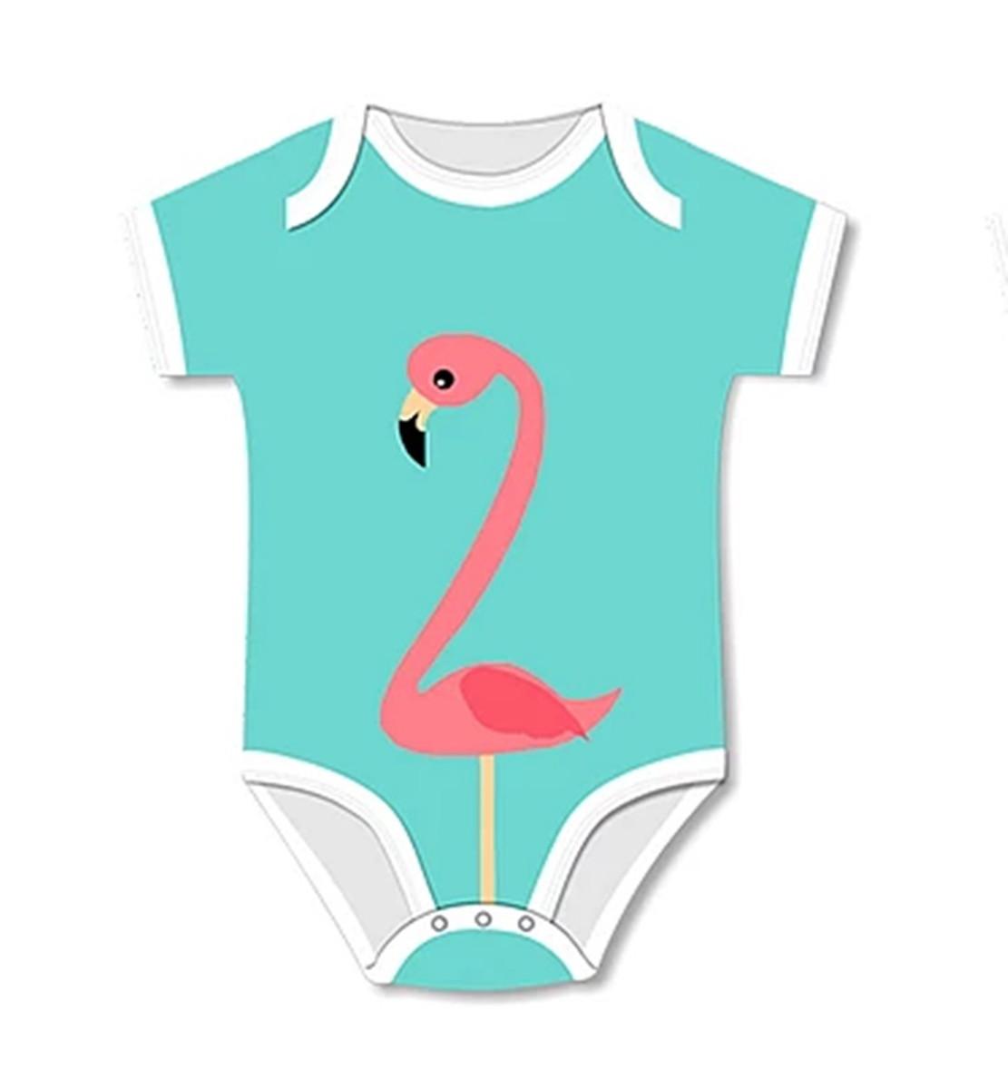 Body Flamingo Com Proteção UV 50+ - tam. M 3-6 m no Elo7   Shop ... 41a24256c5