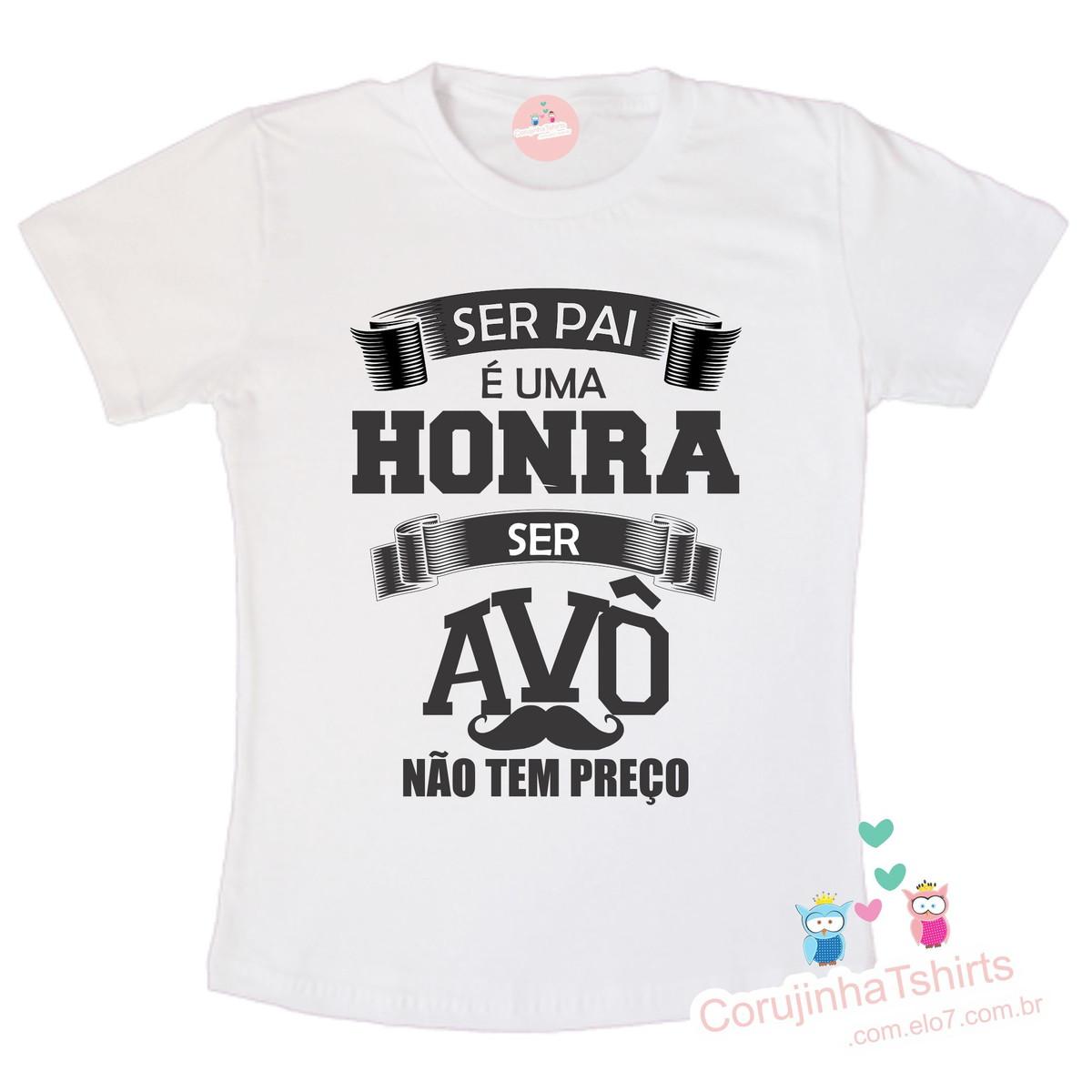 da5a661a98 Camiseta avô no Elo7