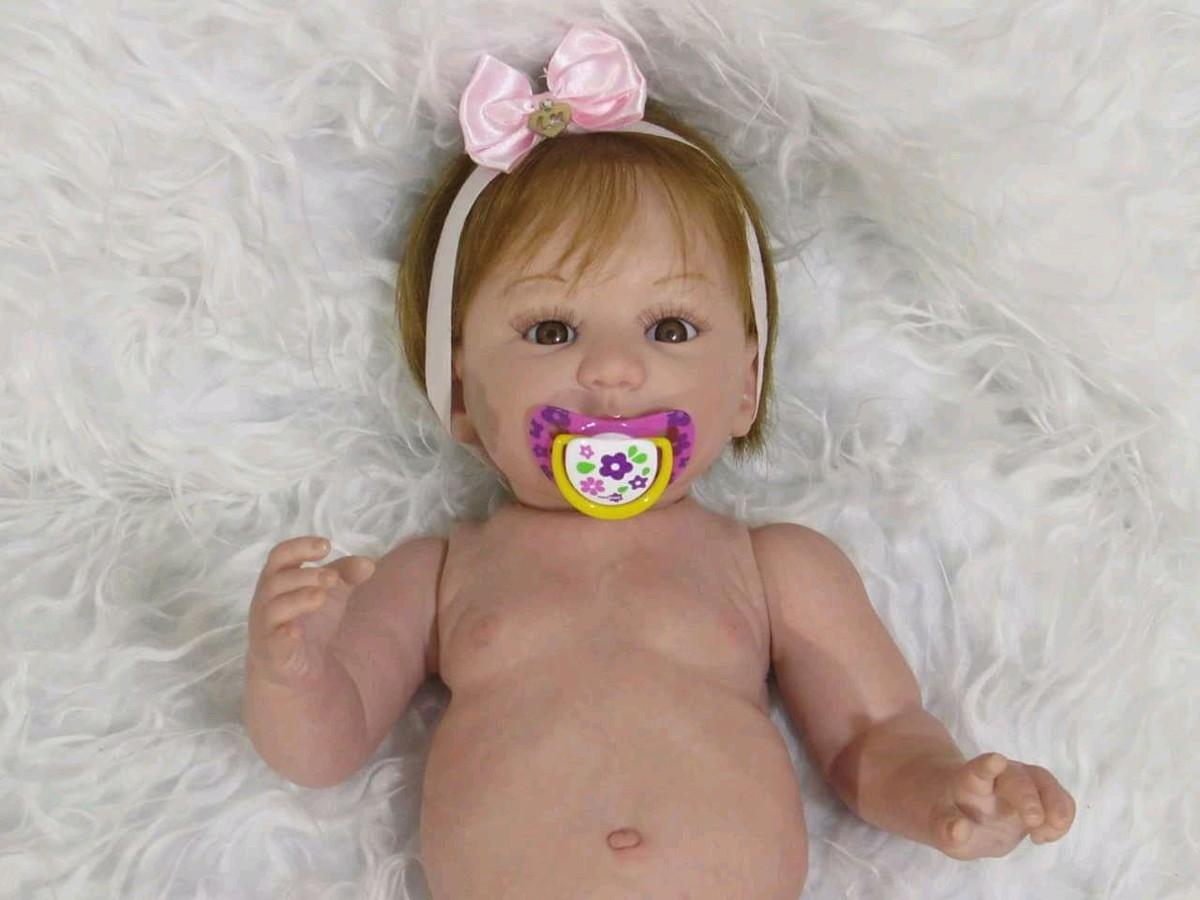 4854aac7b Bebê Reborn corpo inteiro sob encomenda no Elo7