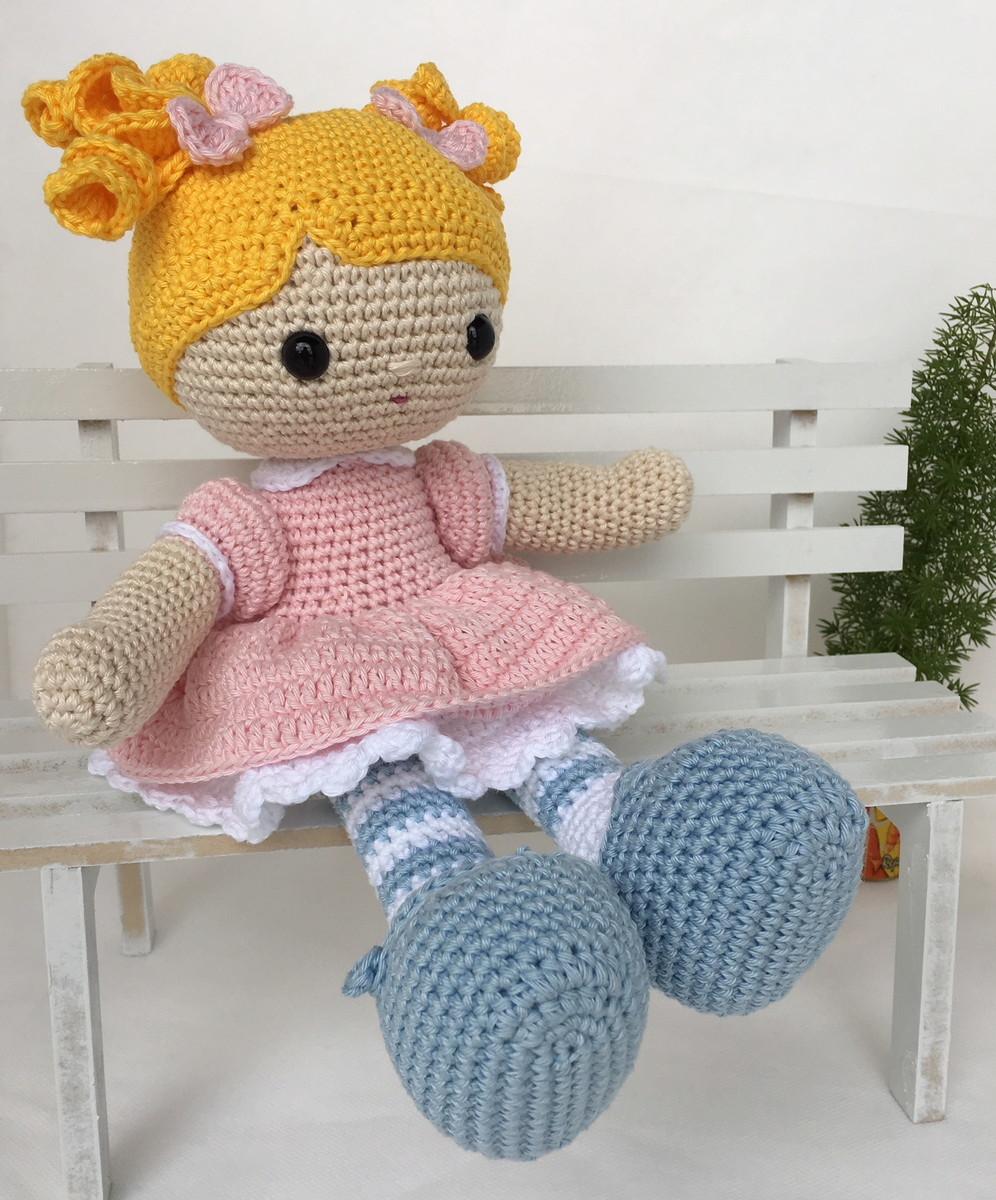 5 apaixonantes modelos de bonecas de amigurumi - Viver de Artesanato | 1200x996