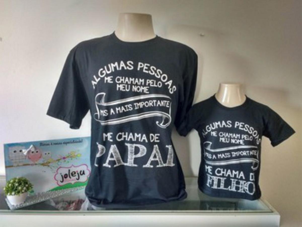ffb54816b8 Camiseta Pai e Filho no Elo7