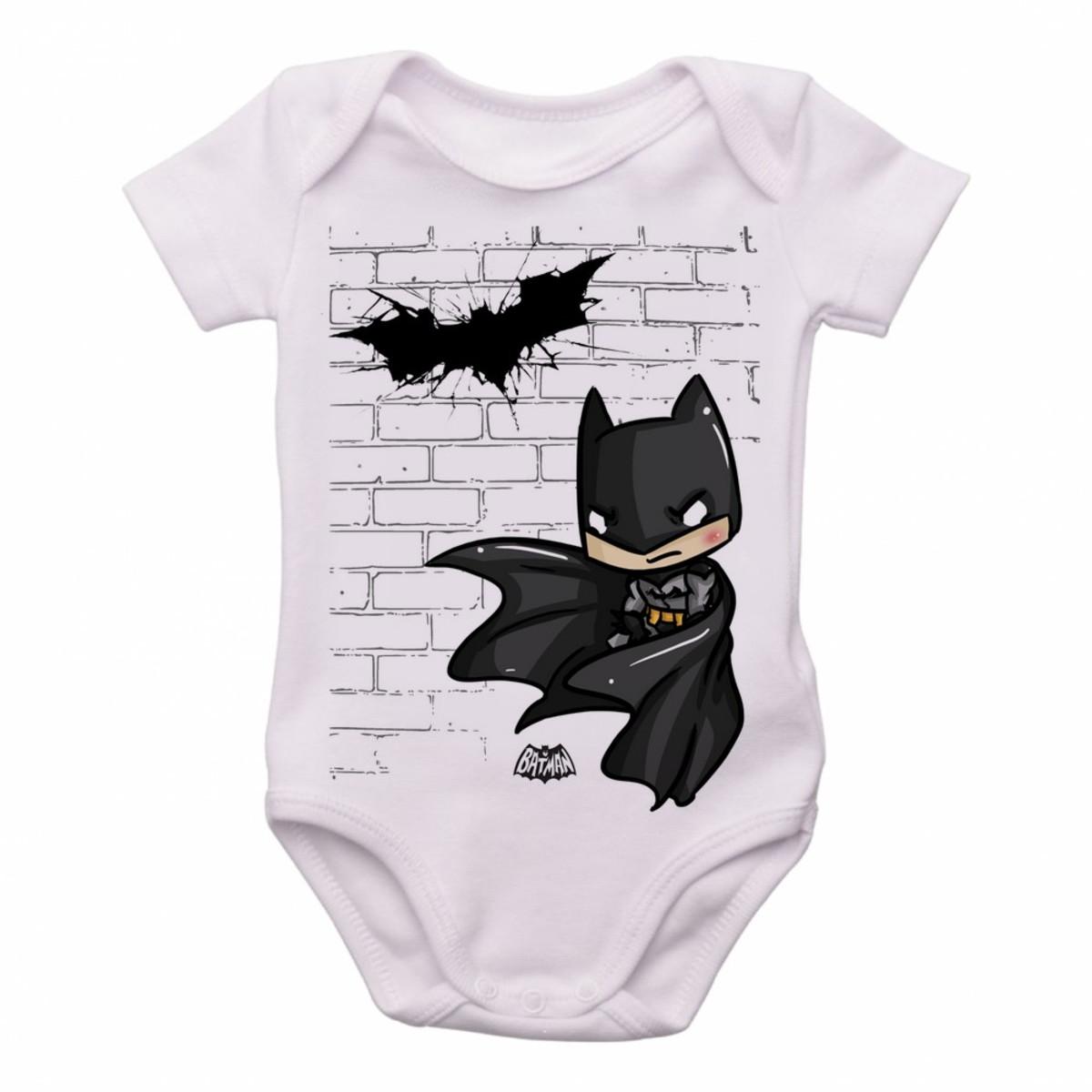 Bodie body Criança Infantil Roupa Bebê Batman morcego no Elo7 ... 7640c000706
