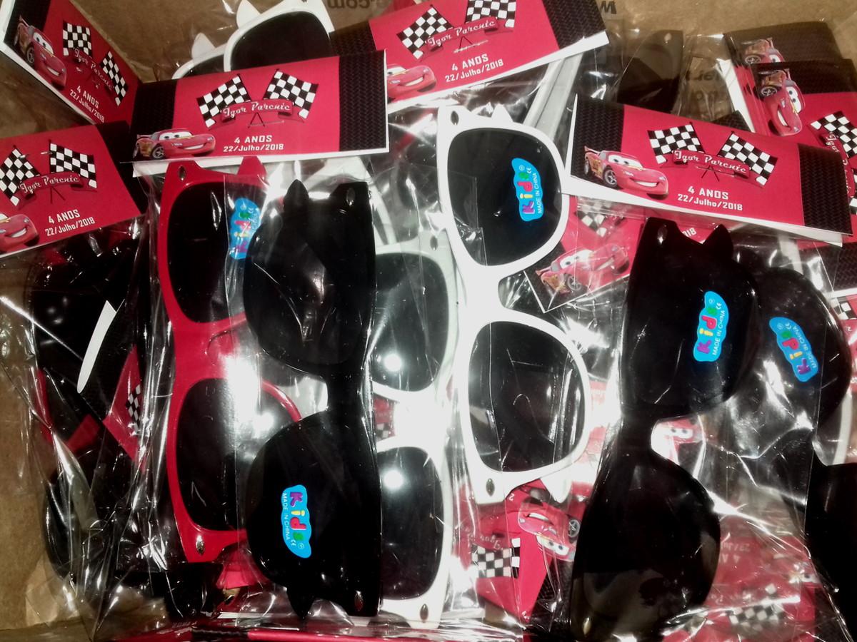 f39317b48 Óculos INFANTIL para Lembrancinha de Festa Carros no Elo7 | Catia ...