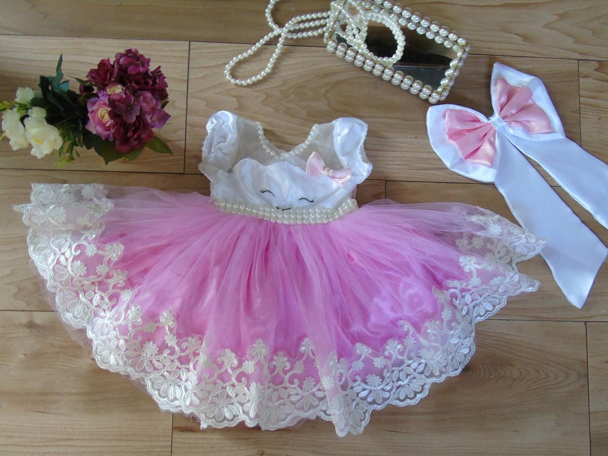 Vestido Chuva De Amor Rosa