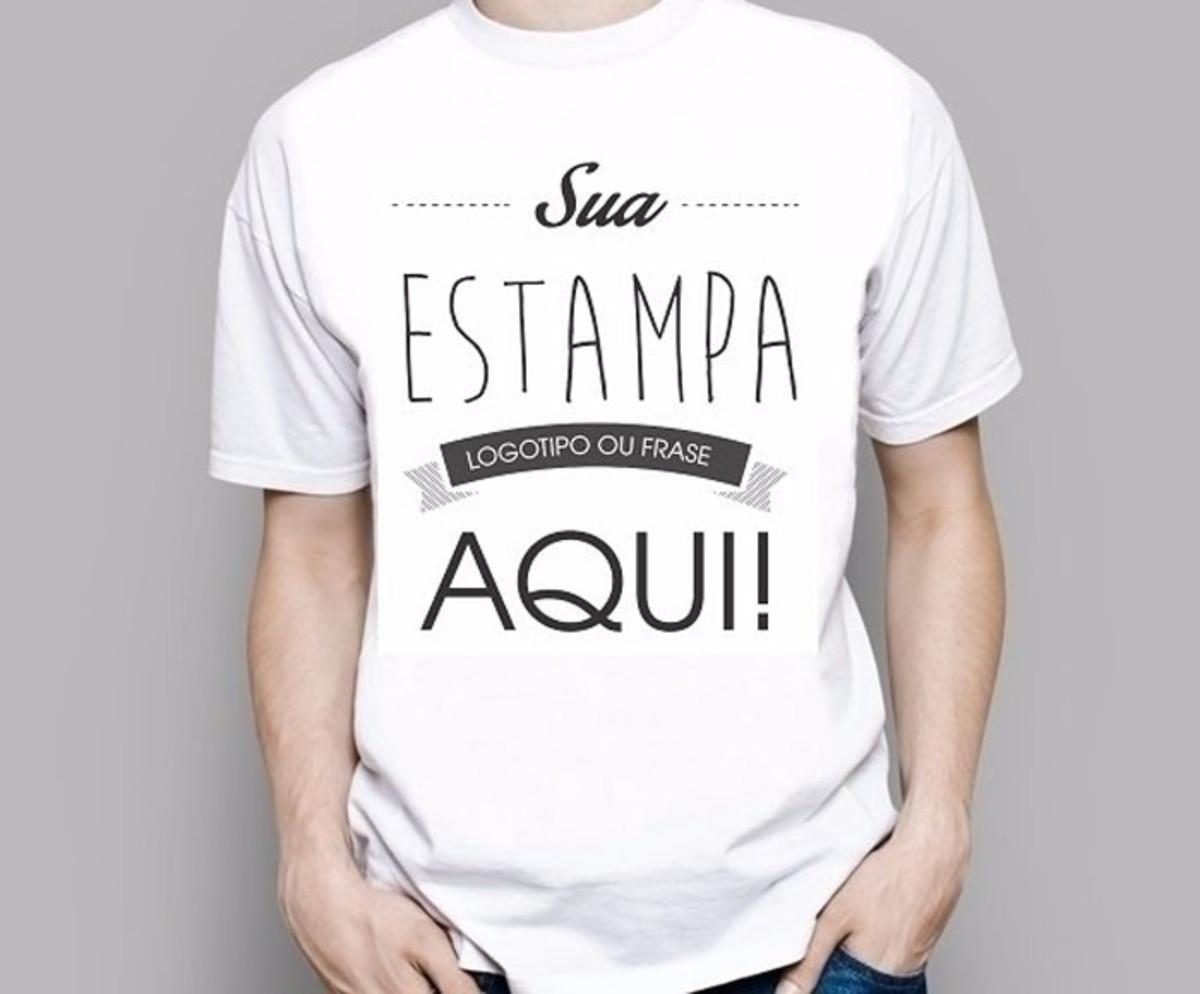 Camiseta Personalizada Sua Estampa Masculina Ou Feminina no Elo7 ... 95c3131d5c775