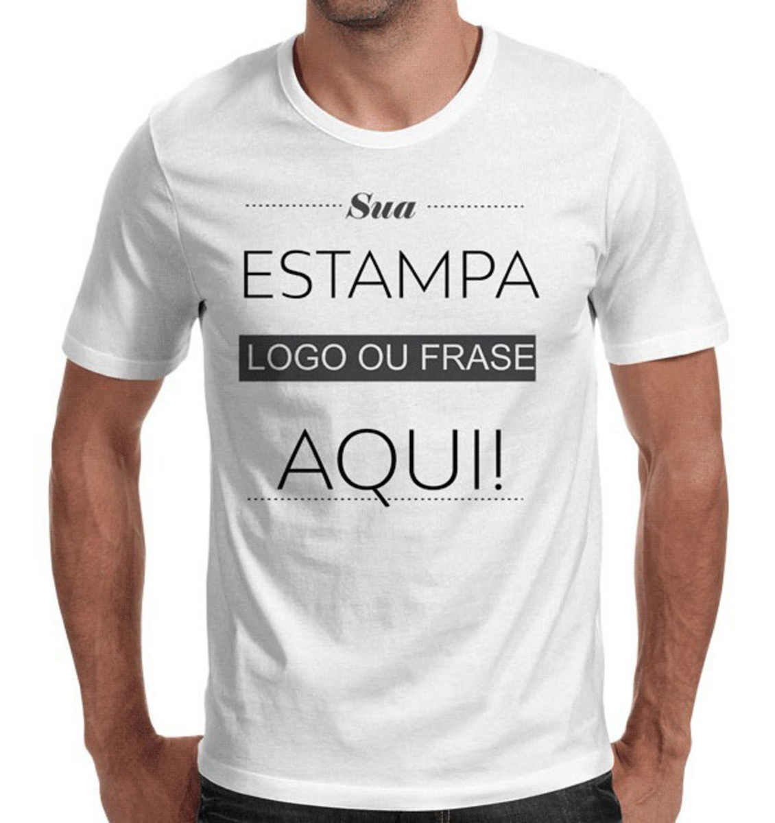 Camiseta Personalizada Sua Estampa Foto Atacado no Elo7  d9f040f4f5c77