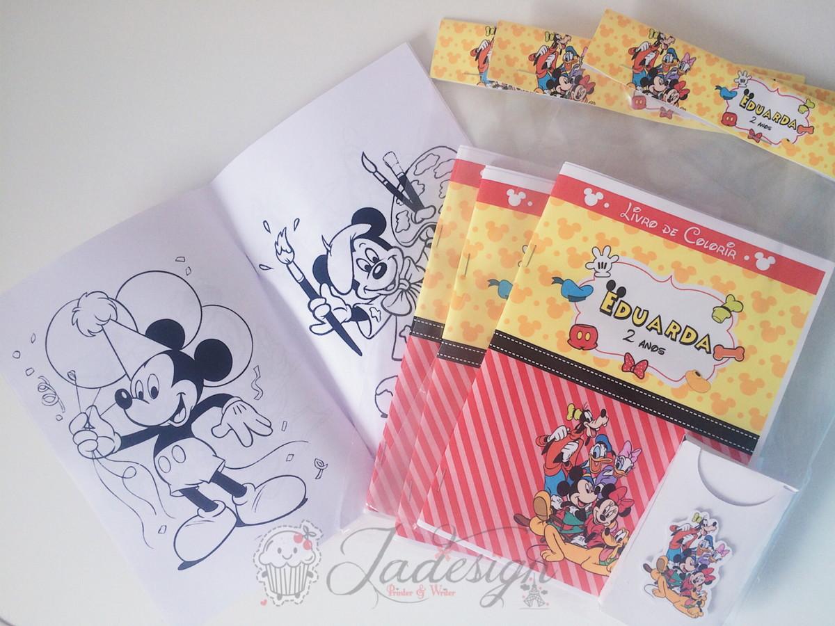 Kit Colorir Turma Do Mickey No Elo7 Jadesign Pw Ca6e89