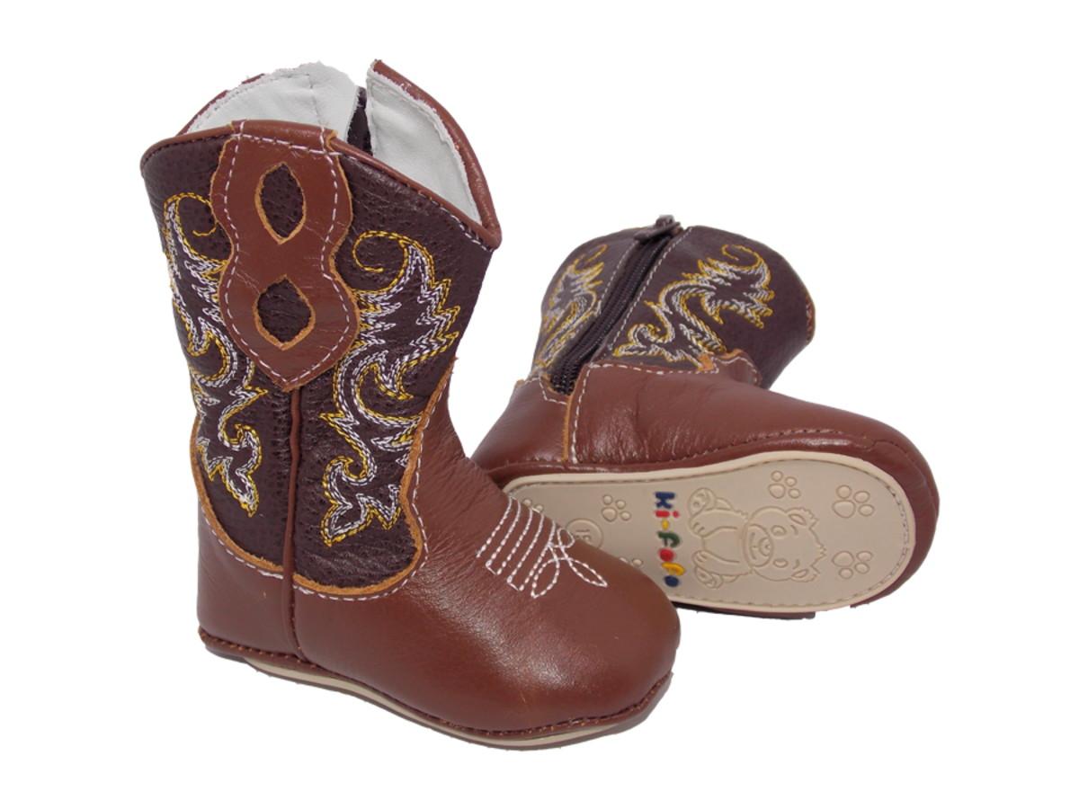 Bota Country de Bebê Texana Menino Menina Rodeio Cowboy 1820 no Elo7 ... 38577a5ce24