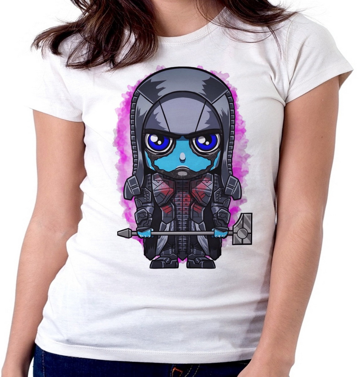 b24a4df12f Blusa feminina baby look camiseta Ronan Acusador Guardiões no Elo7 ...