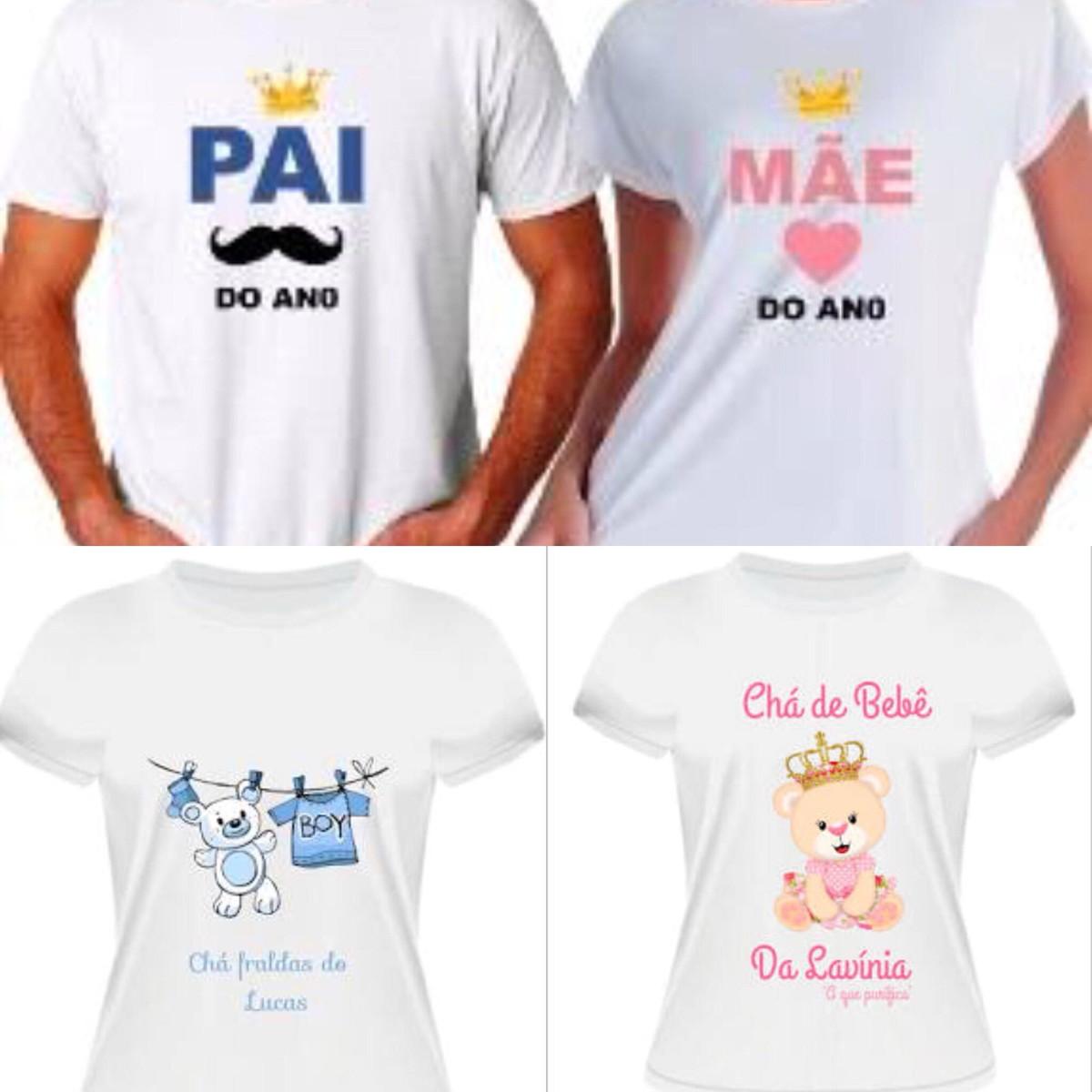 Camisetas Estampadas - Personalizadas no Elo7  f36fb525ba3
