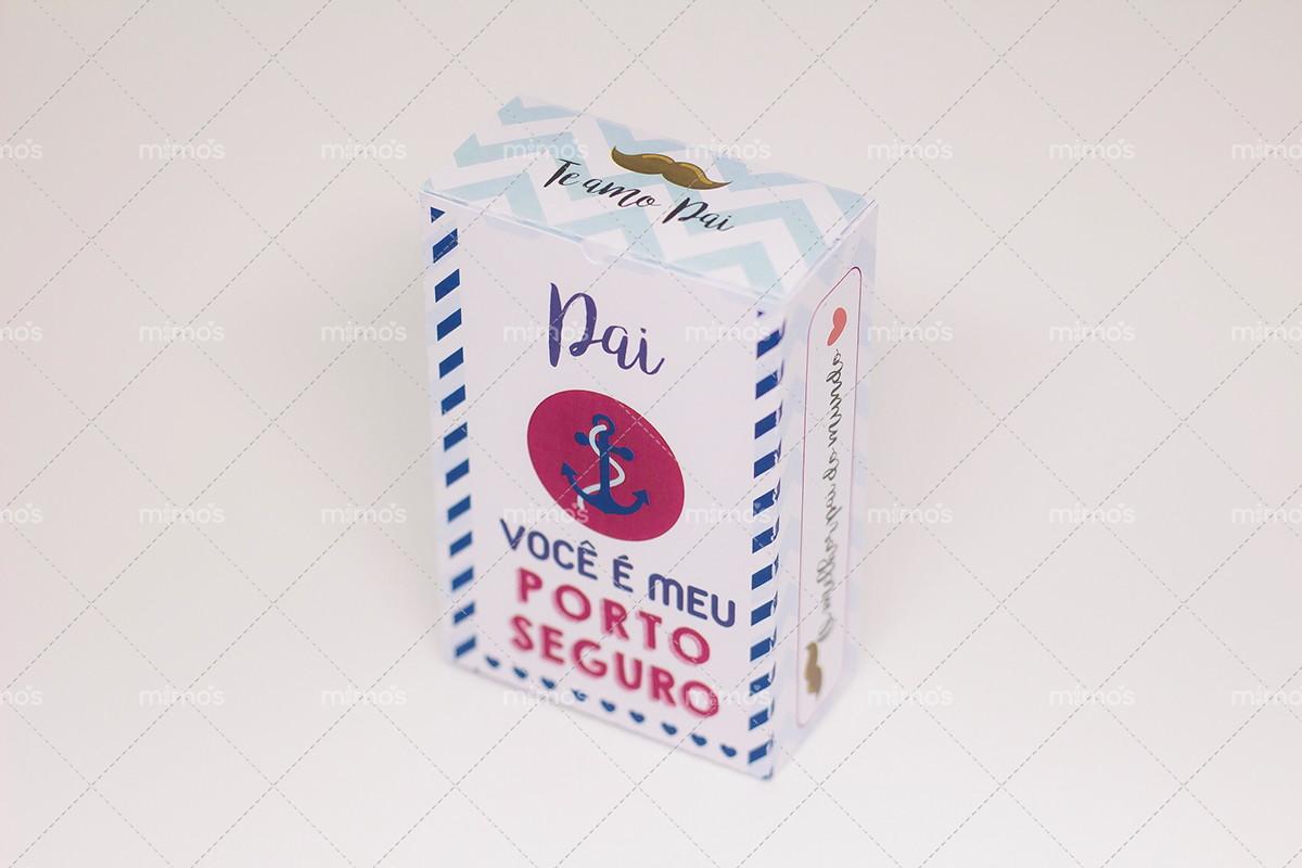5eba0a66bd Caixa dia dos Pais - Modelo 2 c  berço no Elo7