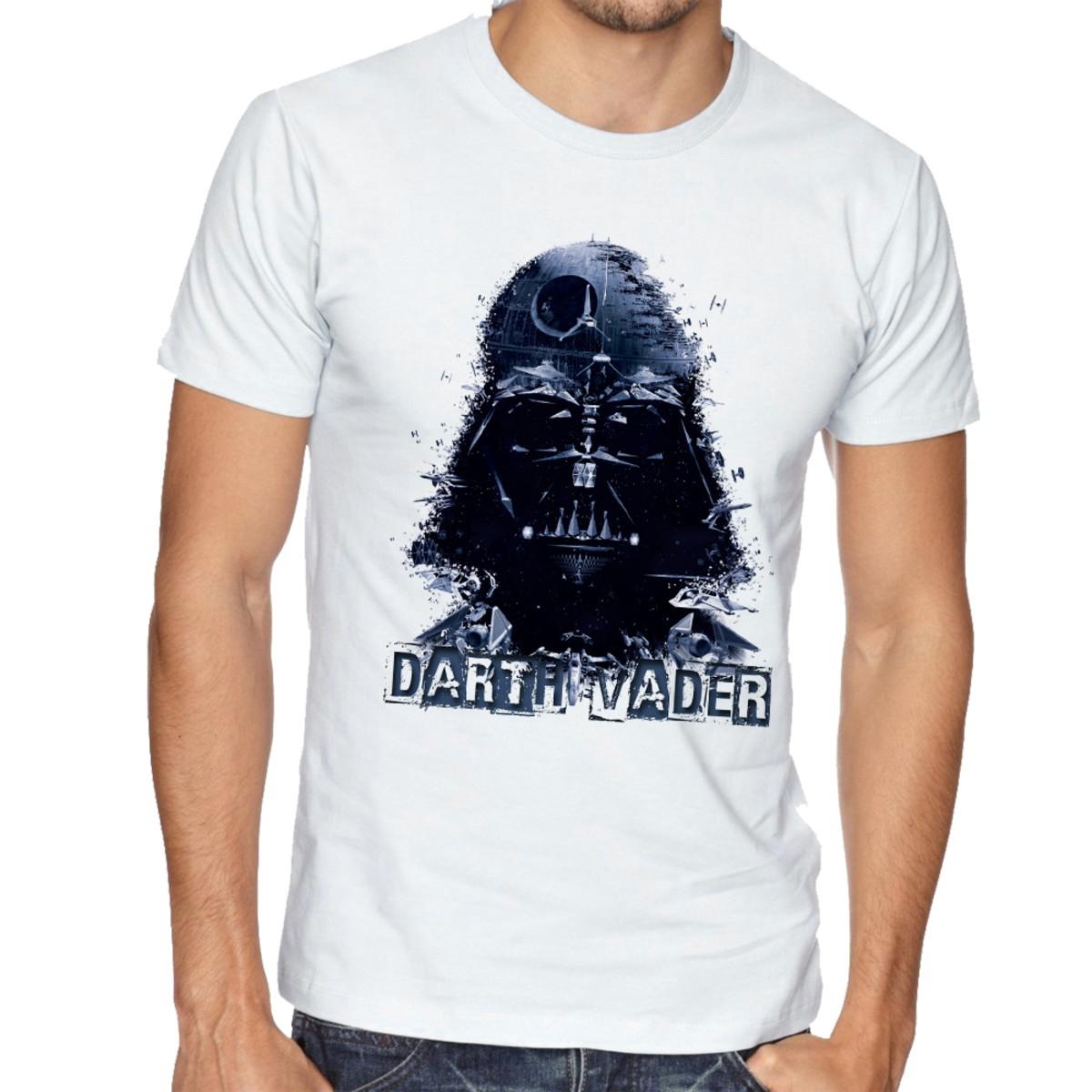 31cbb6a2c Camiseta Infantil Blusa Criança Darth Vader Star Wars no Elo7 ...