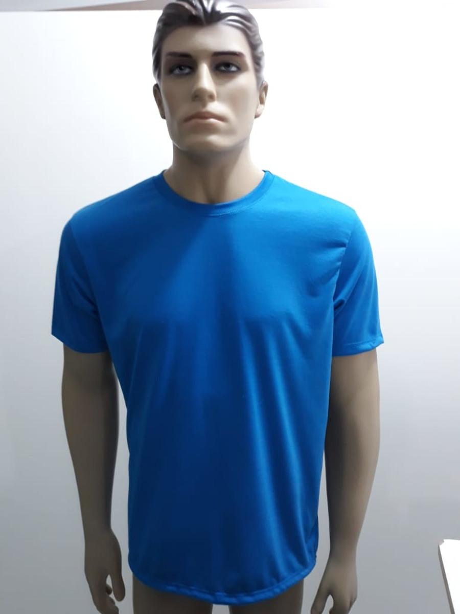 17bd328e2e Camiseta Lisa 100% Poliéster Coloridas no Elo7