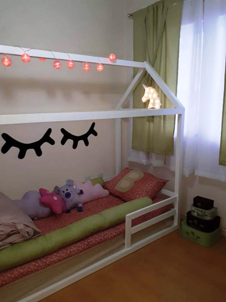 318af783d2 Mini cama infantil no Elo7