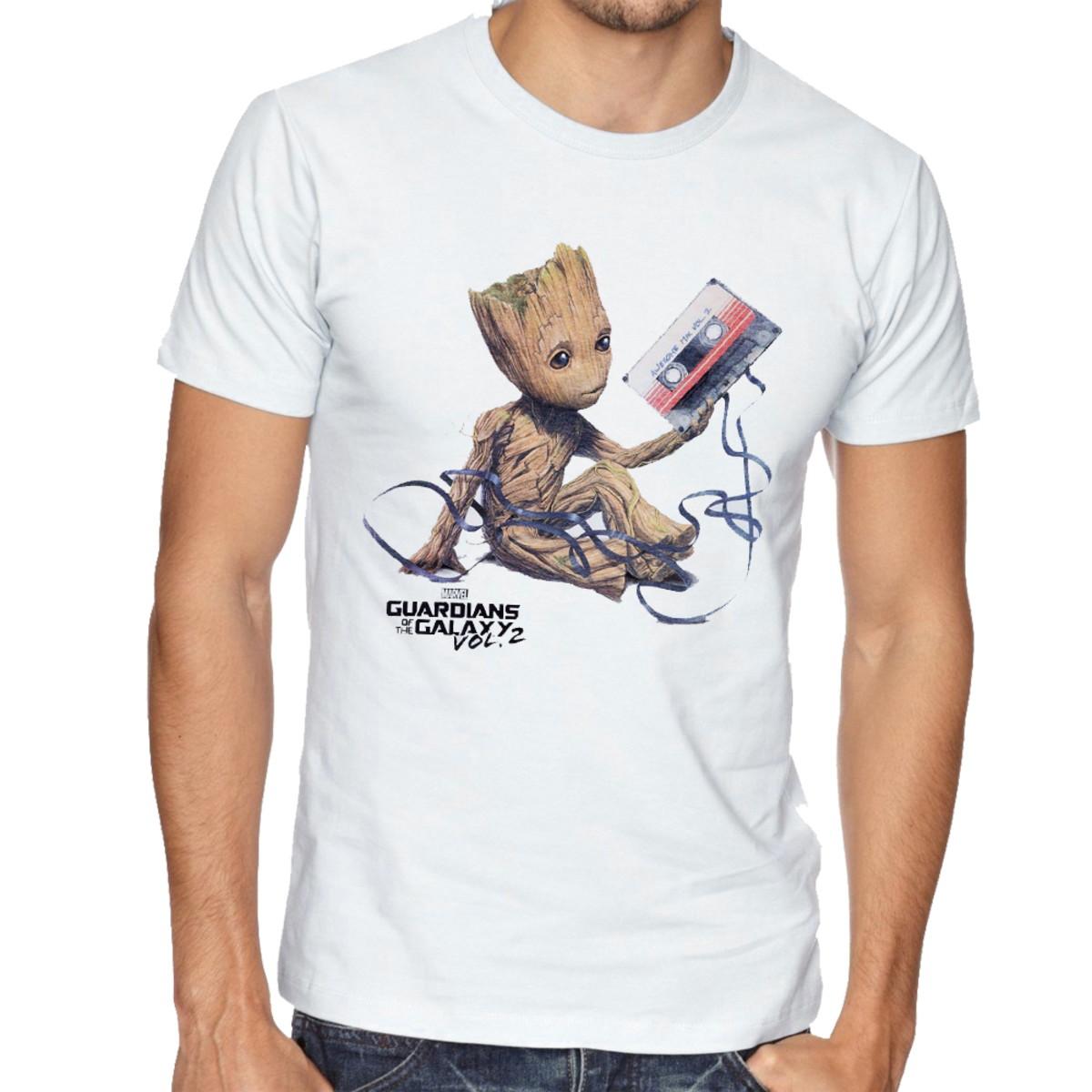 2a2482a81d Camiseta Infantil Blusa Criança Guardiões Galáxia Groot fita no Elo7 ...