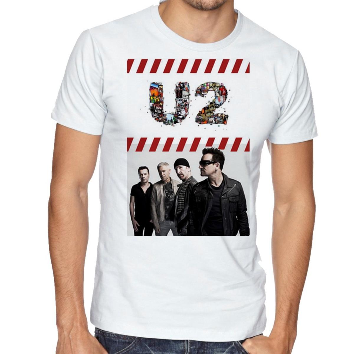 Camiseta Infantil Blusa Criança U2 Banda Rock Irlandesa Bono no Elo7 ... 14c88aab67e12