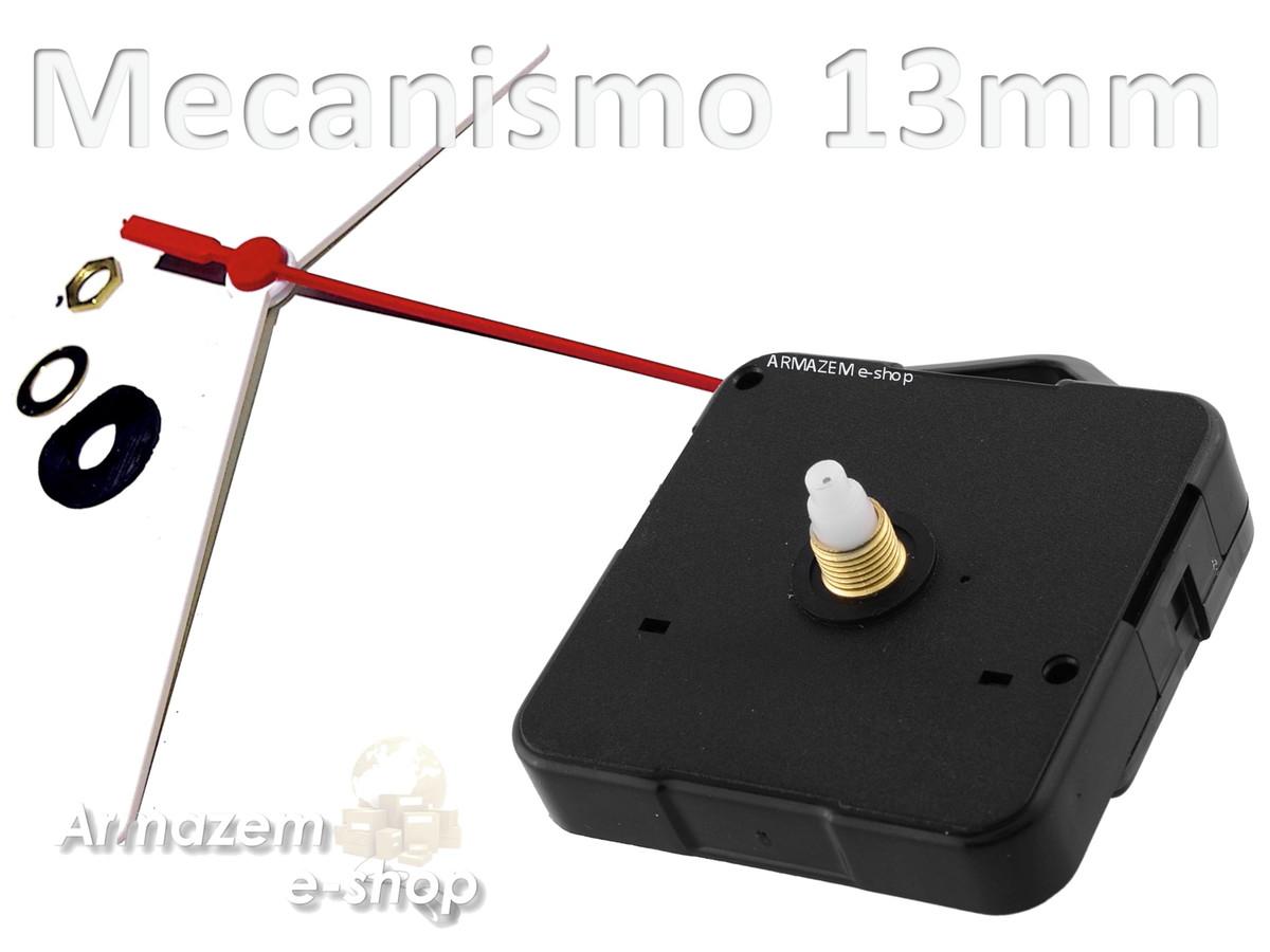 2da5ac02f48 Máquina De Relógio De Parede Quartz 13mm Movimento Continuo no Elo7 ...