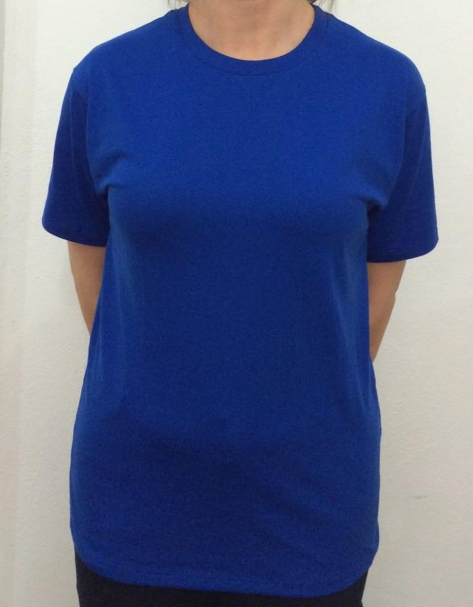 0d38ce89b4968 Camiseta Básica Lisa Malha 100% Algodão 30.1 Cores Variadas no Elo7 ...