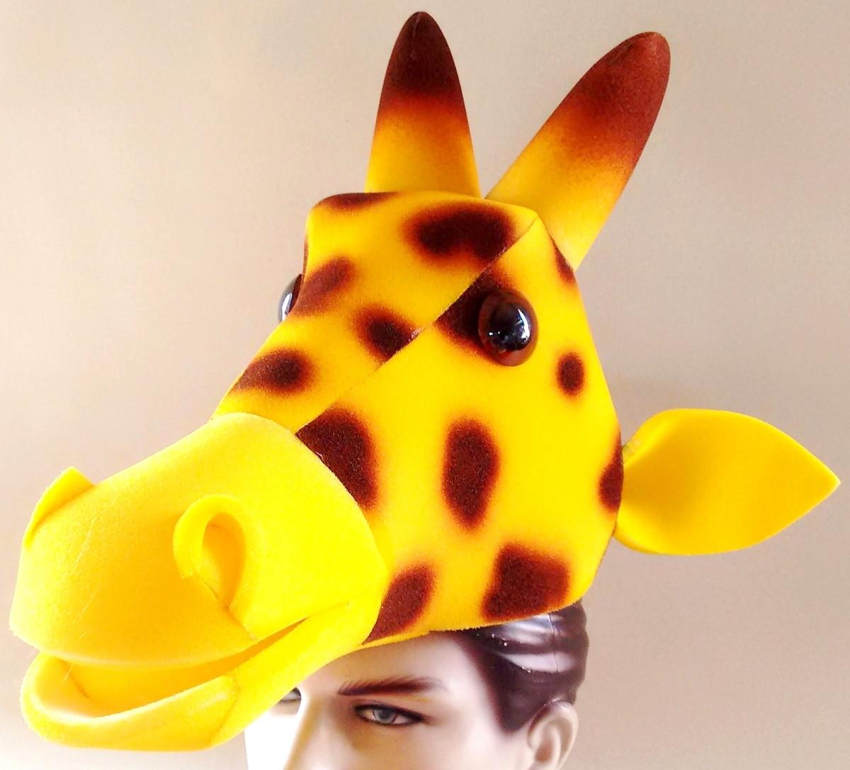 chapéu girafa em espuma no Elo7  18b3837a096