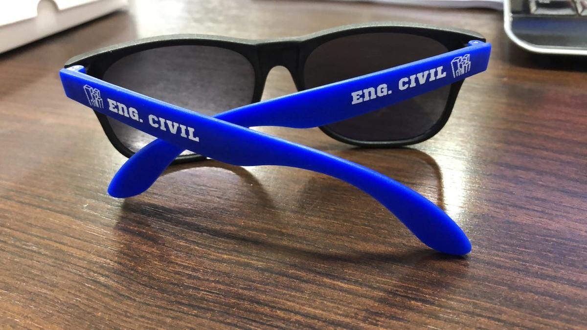 80f35567c1ecb Óculos personalizado para festa (fosco) no Elo7   Óculos Para Festas ...