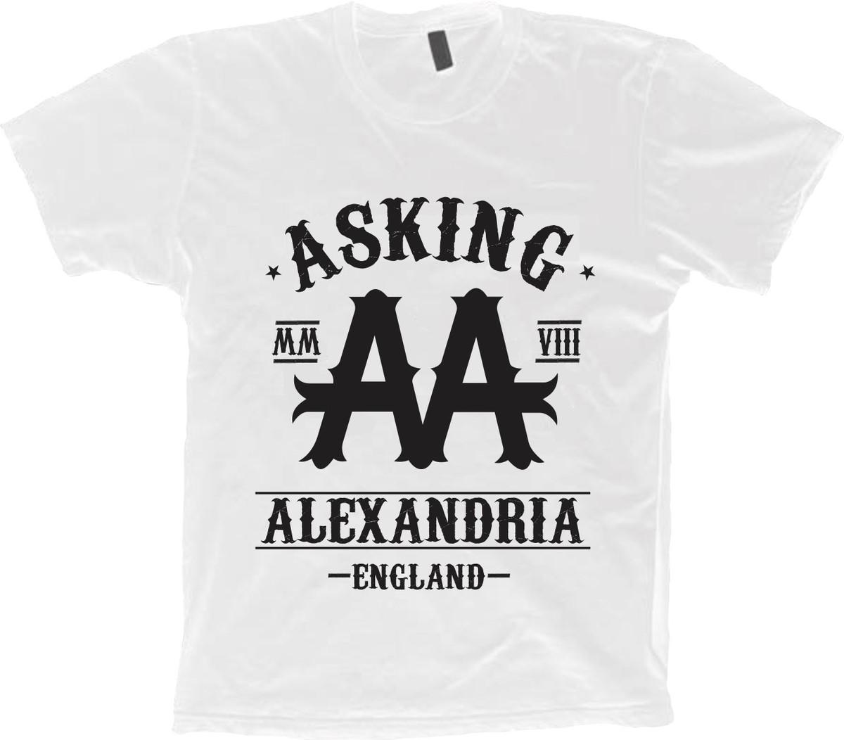 b713aa7d3f Camiseta Bandas Rock - Asking Alexandria - 100% Algodão no Elo7 ...