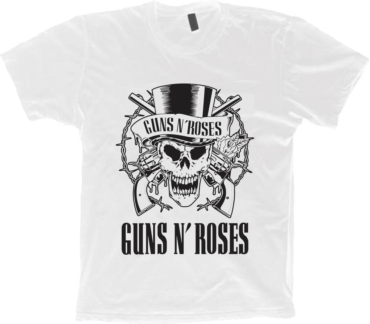 a8c3d662f3 Camiseta Bandas Rock - Guns N  Roses - 100% Algodão! no Elo7 ...
