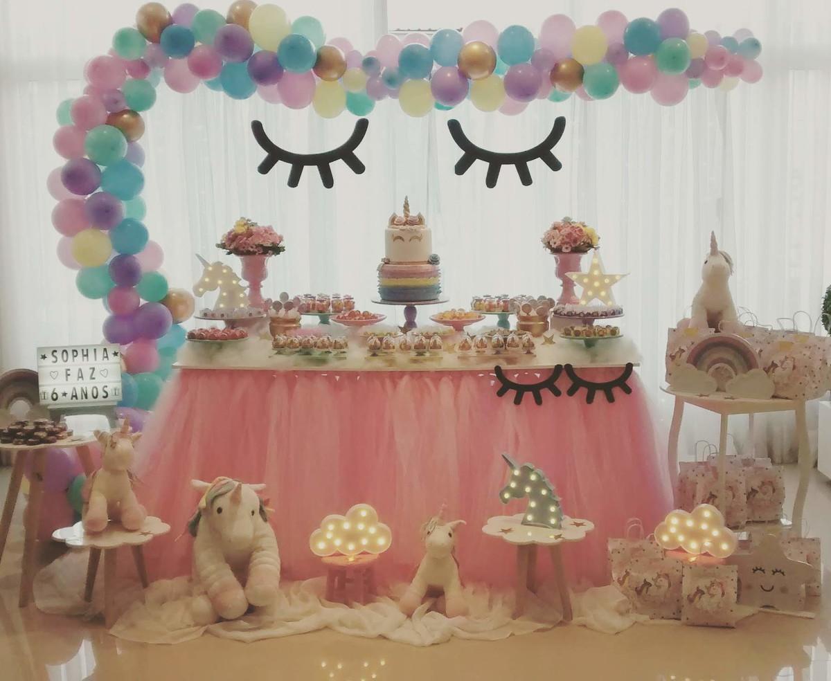 Decoração Tema Unicórnio Da Sophia No Elo7 Loc Cakes E Festas Cbf1b7