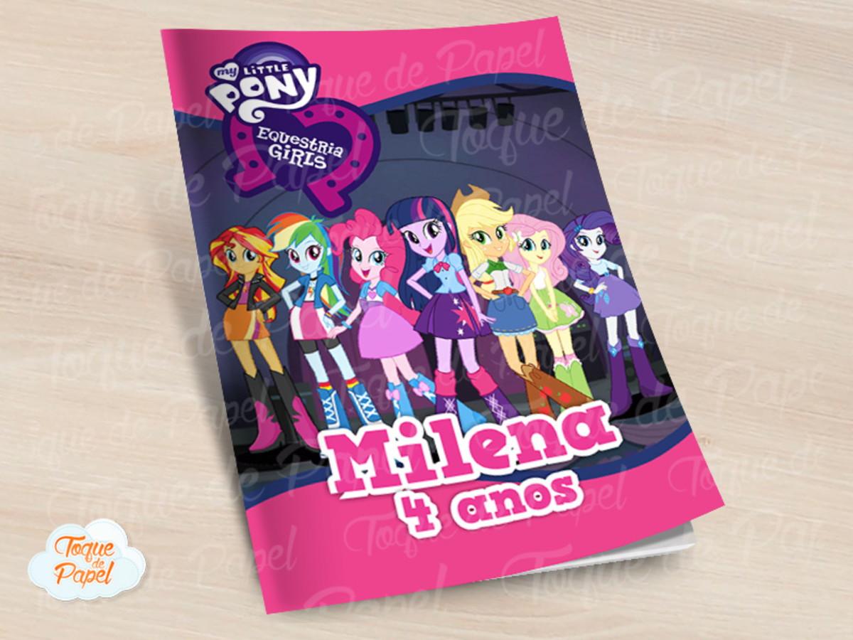 Revista Colorir Equestria Girls No Elo7 Toque De Papel Cc02b1