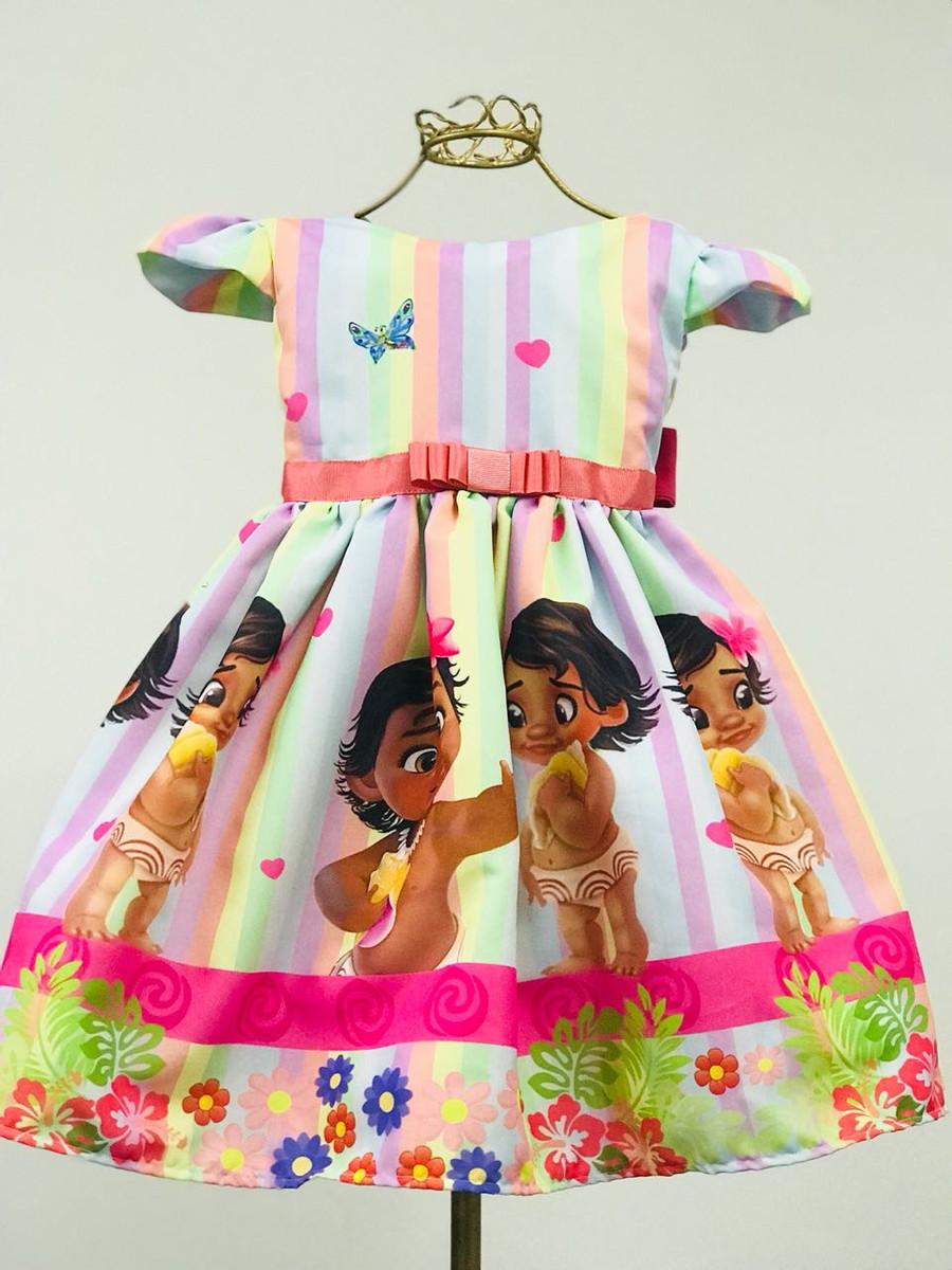 Vestido Luxo Moana Baby