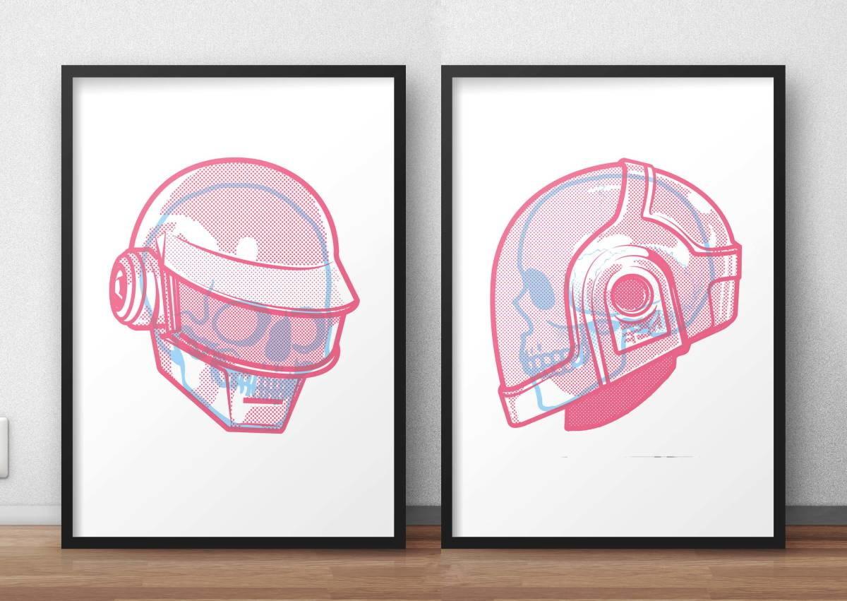 Daft Punk A3 Poster 2