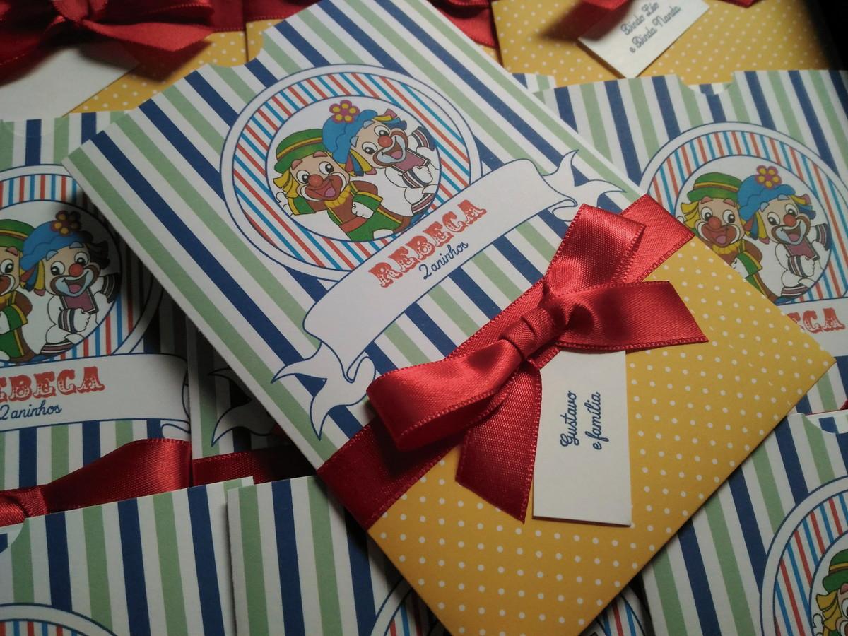 Convite Para Aniversário Infantil Patati Patatá No Elo7 Dconvite