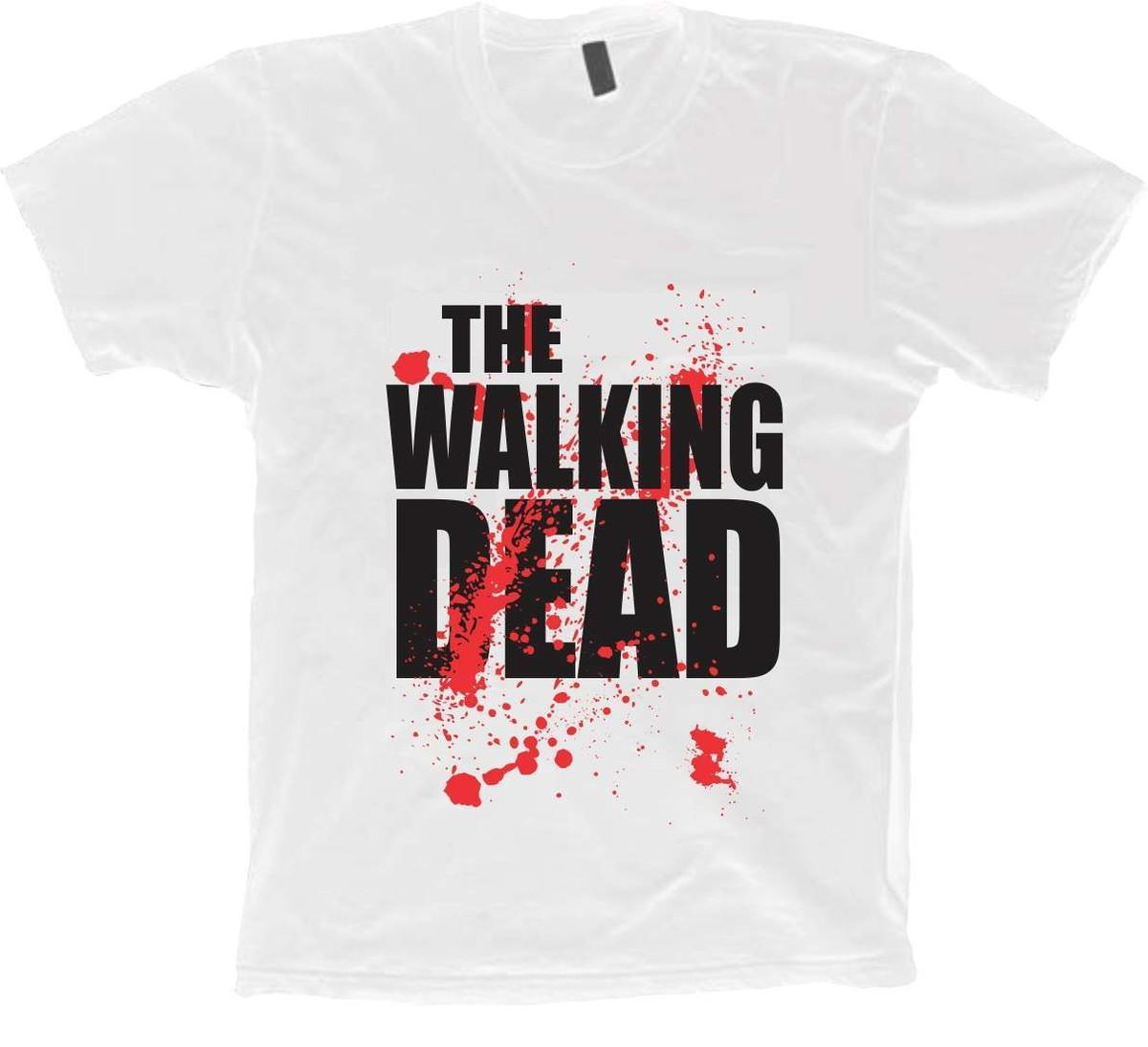 3972b4fbdb Camisetas Séries ABC - The Walking Dead - 100% Algodão!! no Elo7 ...