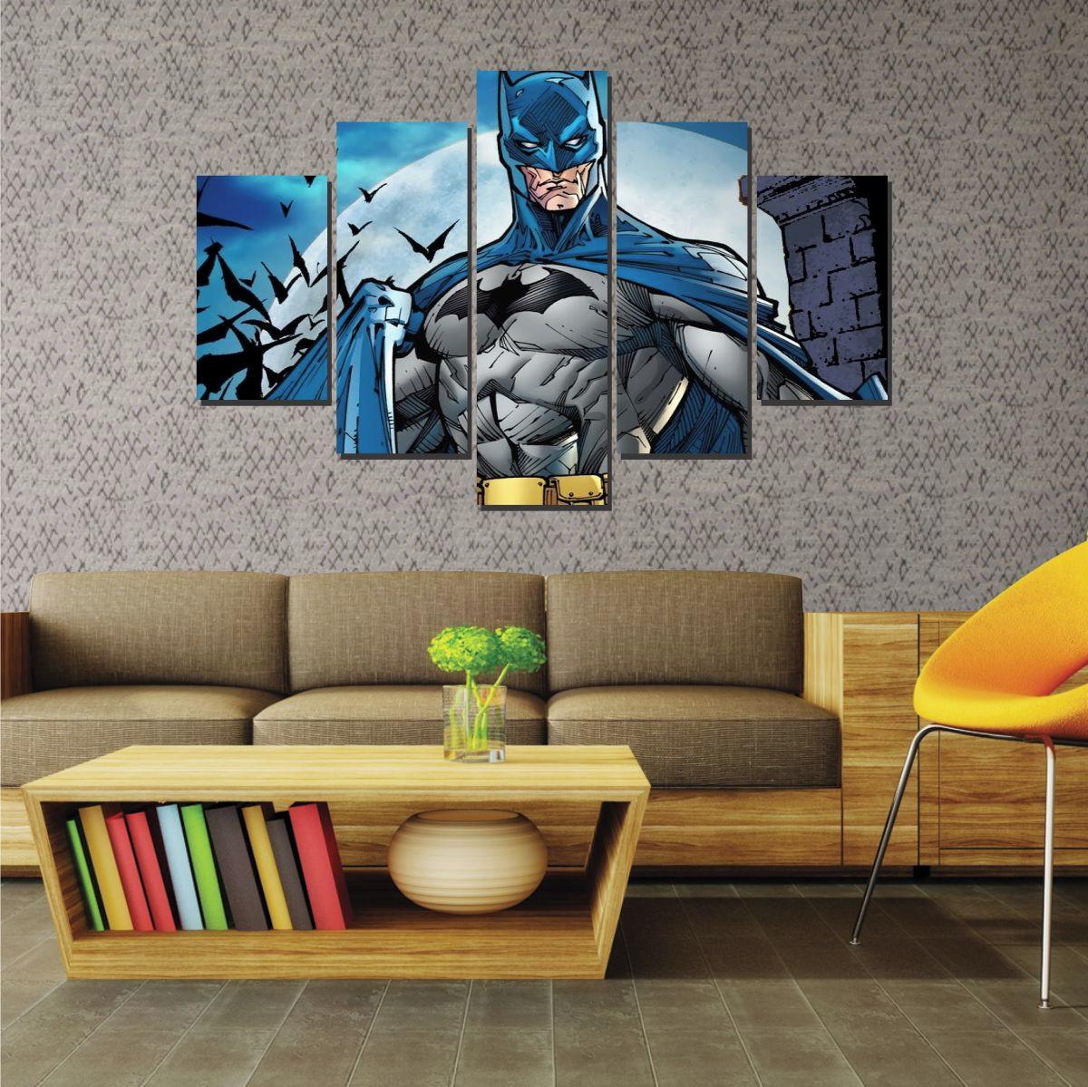quadro mosaico decorativo batman desenho no elo7 rc papel de