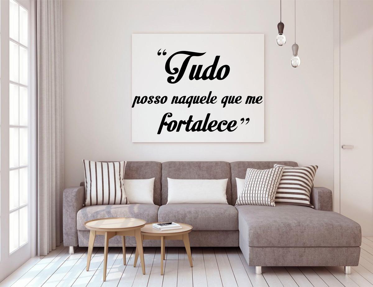 Frase Bíblica Adesivo De Parede 90x90 No Elo7 Lovesme Cc8905