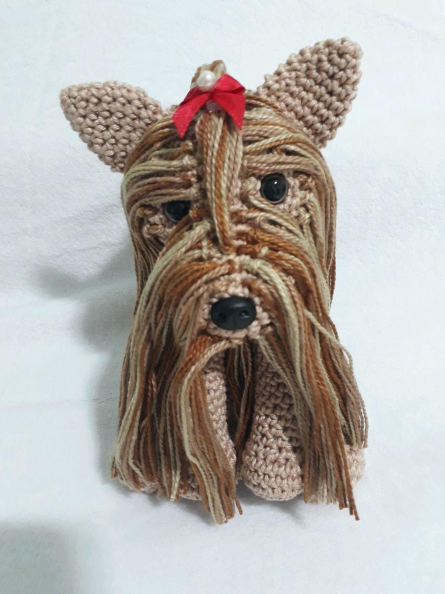 Crochet Yorkshire Terrier Amigurumi Yorkshire Terrier Yorkie Plush ... | 1200x900
