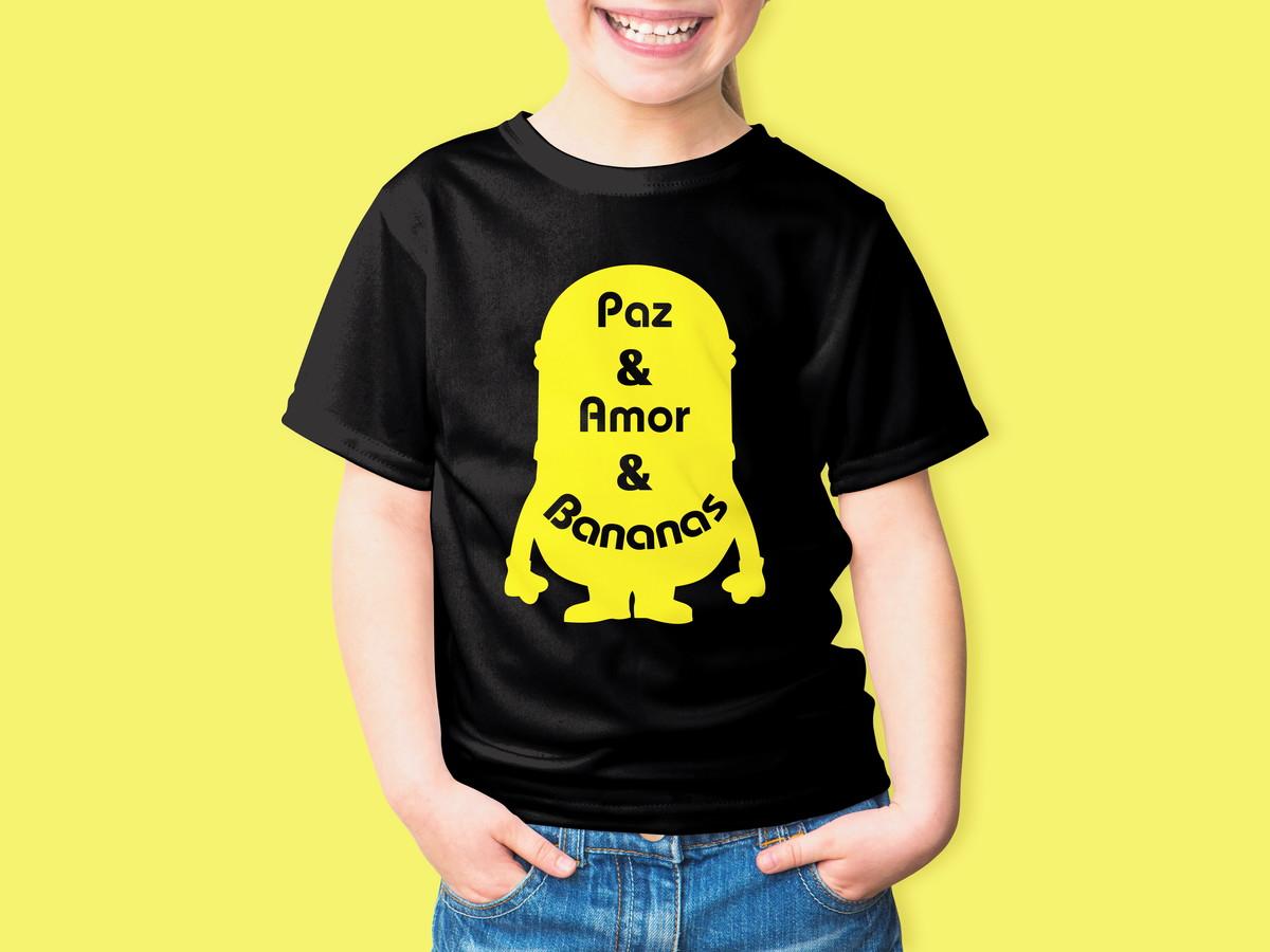 Camiseta Infantil Filme Desenho Minions 100 Algodao No Elo7
