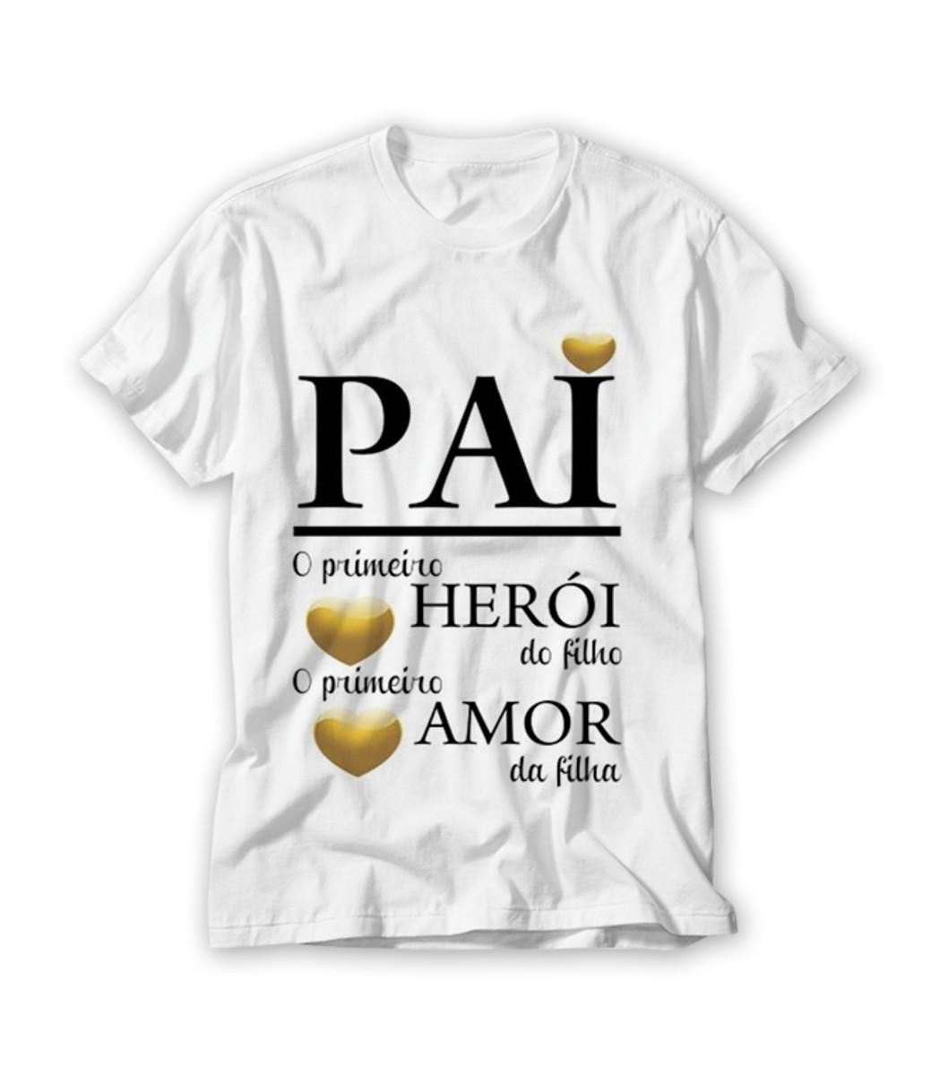 037ecc10ec Camiseta Dia dos Pais no Elo7