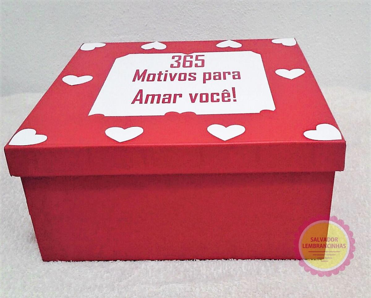 Caixa Romântica Com 365 Frases Românticas No Elo7 Salvador