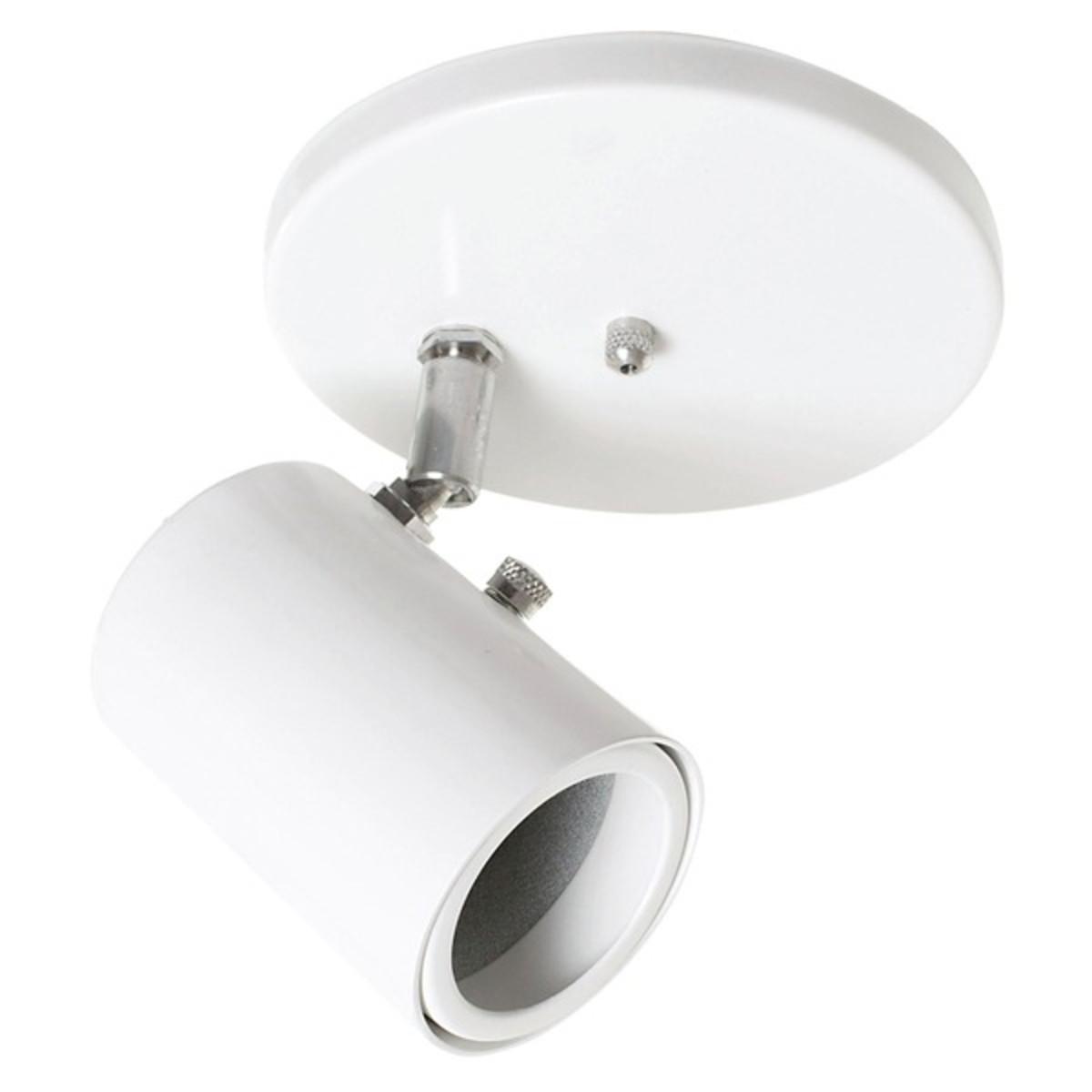 Lustre Spot Led Branco Sobrepor Sala Quarto Banheiro Hall No Elo7