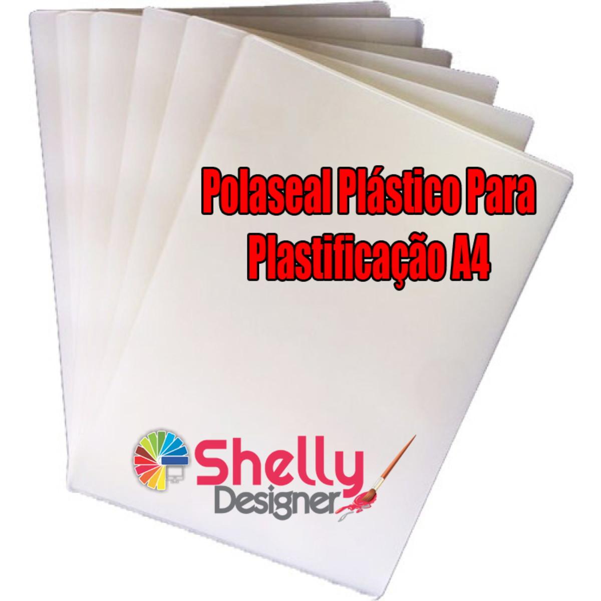 1fc3bc7e1 Polaseal Plástico Para Plastificação A4 20un no Elo7