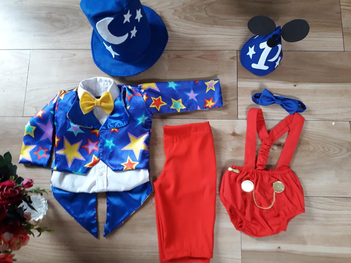 8890fe9d93323f Fantasia Mickey mago Circo Magico/ smash the cake mickey mag